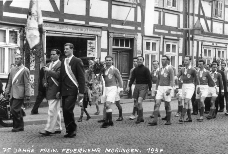 Umzug 1957
