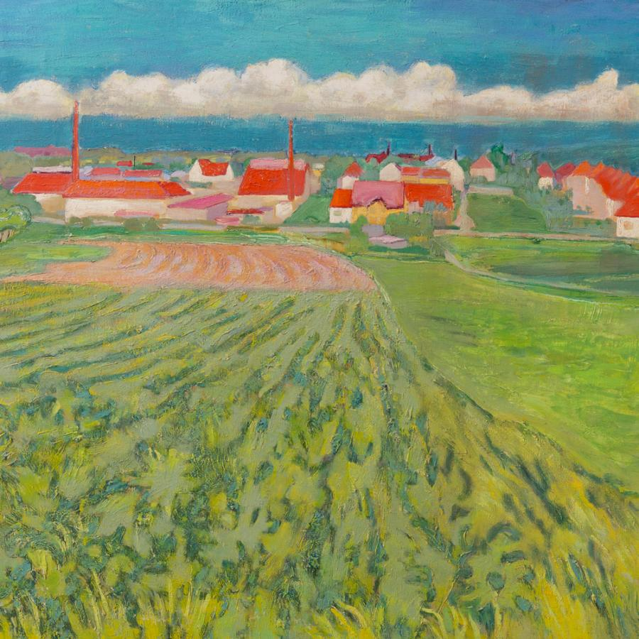 Lohse, Carl_Lausitzer Landschaft_Ausschnitt Sammlung TS_Foto- MuseumOSL