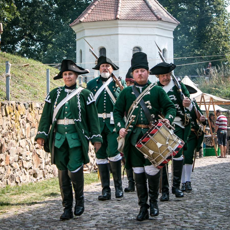 Festungsspektakel_Freycorps von Kleist Foto- Museum OSL