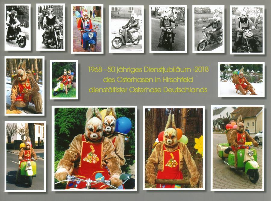 """1968 - 2018 """"50 Jahre Osterhase"""""""