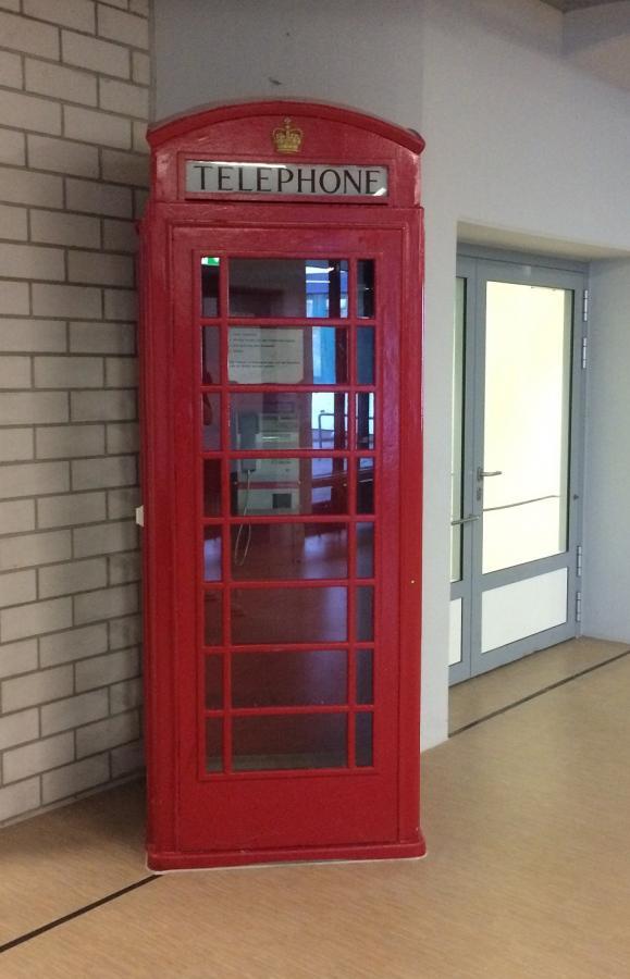 Die Telefonzelle aus Northallerton ist geblieben!
