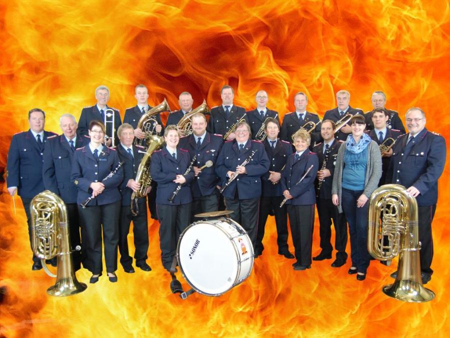 Musikzug Flammen
