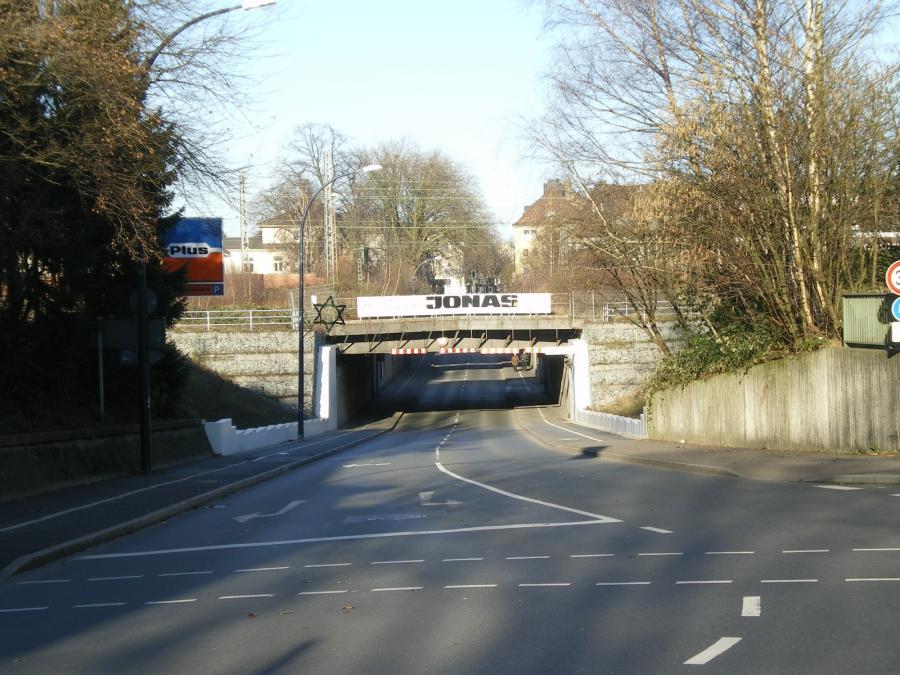 Unterführung am Bahnhof Holzwickede Richtung Norden