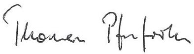 Unterschrift Thomas Pfeifroth