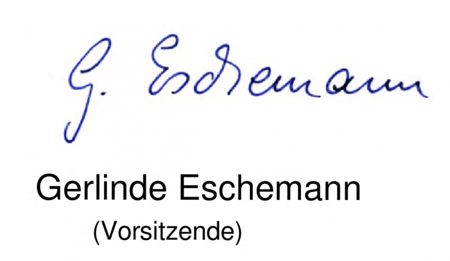 Unterschrift Gerlinde