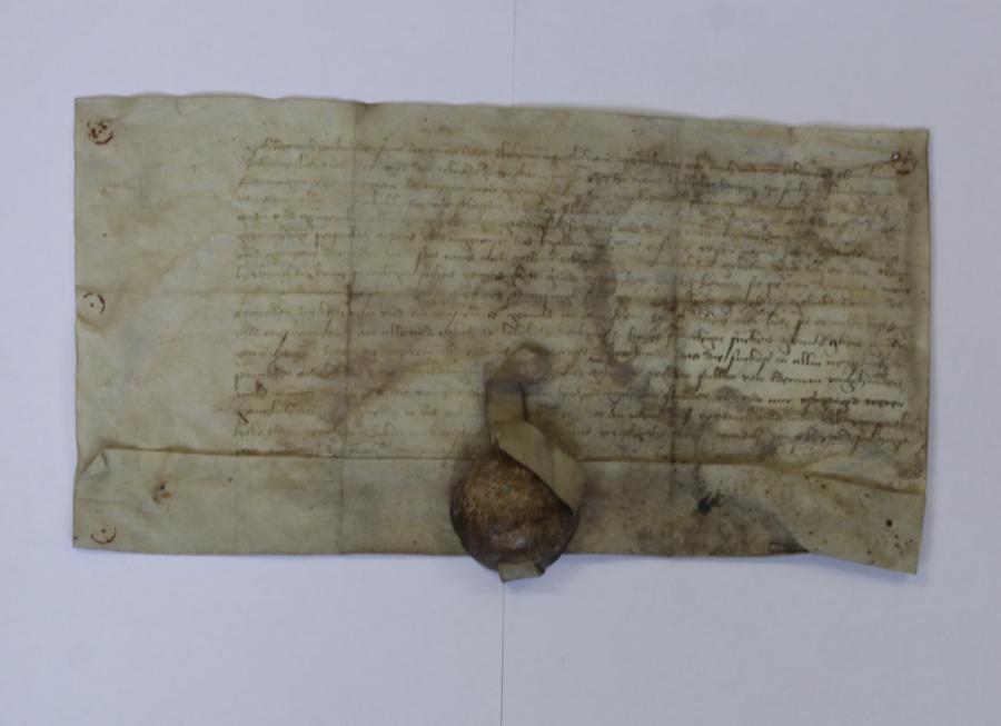 Leitobjekt Burggeschichte: Urkunde von 1467