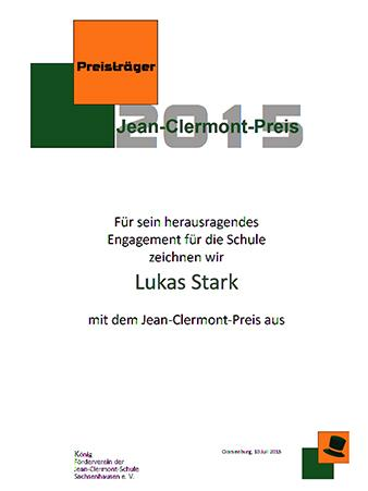 Urkunde 2015 L