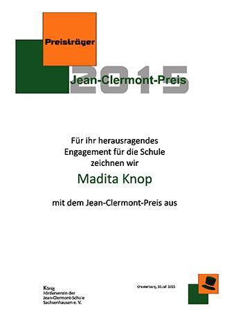 Urkunde 2015 M