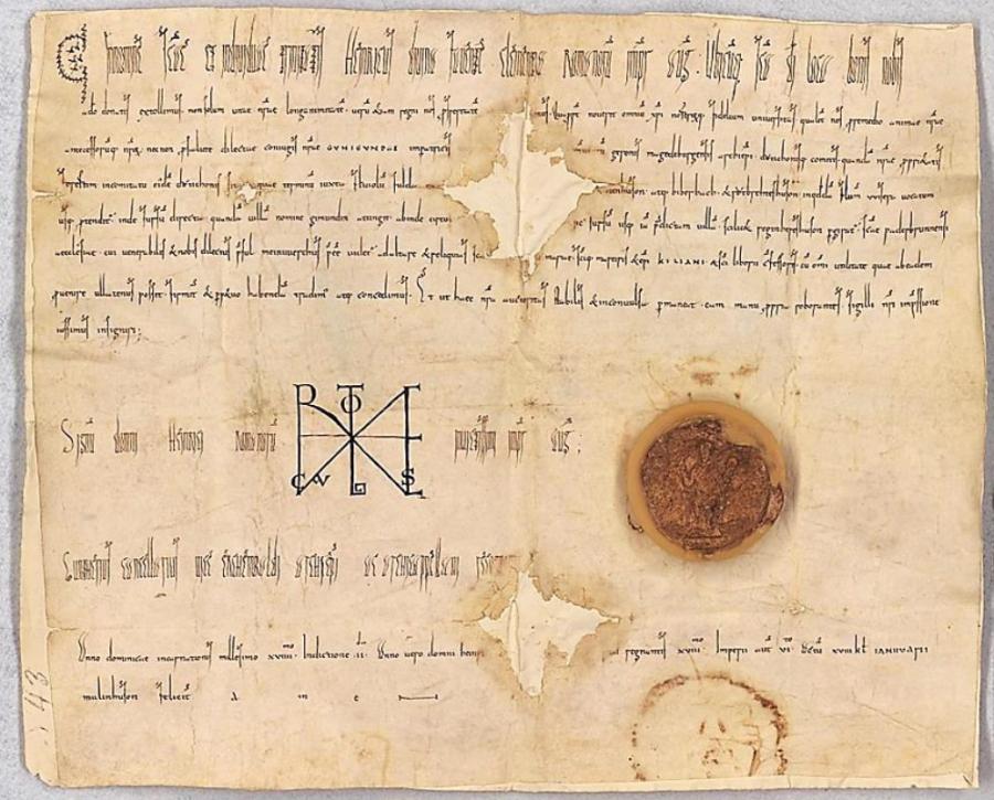 Urkunde Kaiser Heinrich II