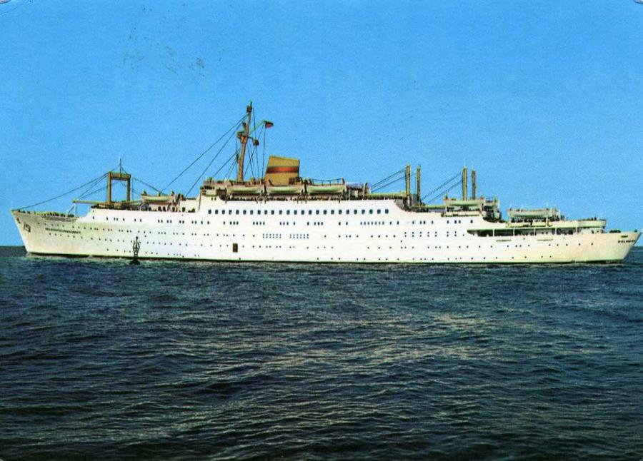 Urlauberschiff MS Völkerfreundschaft 1966