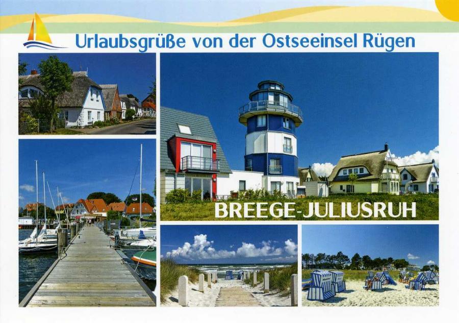 Urlaubsgrüße  Breege-Juliusruh