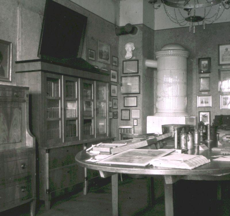ehemaliger Ausstellungsraum 1950
