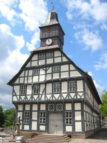 Fenster Rathaus Uslar Deutschland