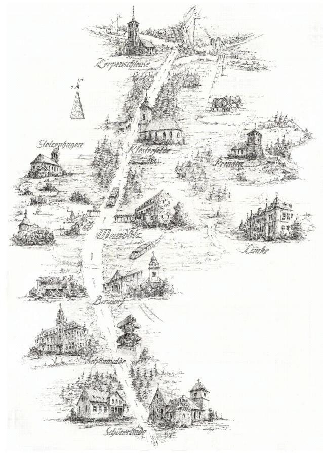 Wandlitz Zeichnung