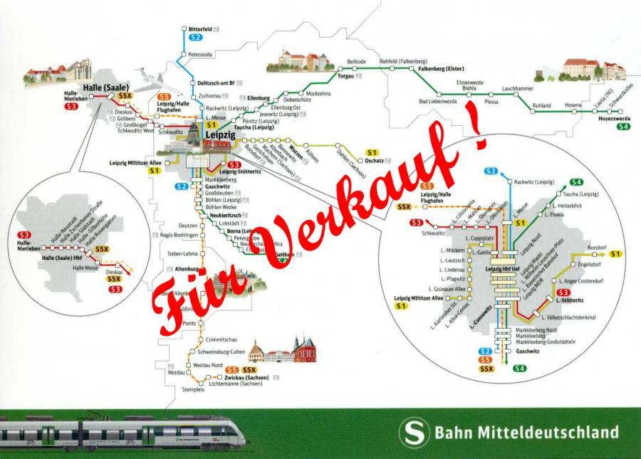 S Bahn Leipzig