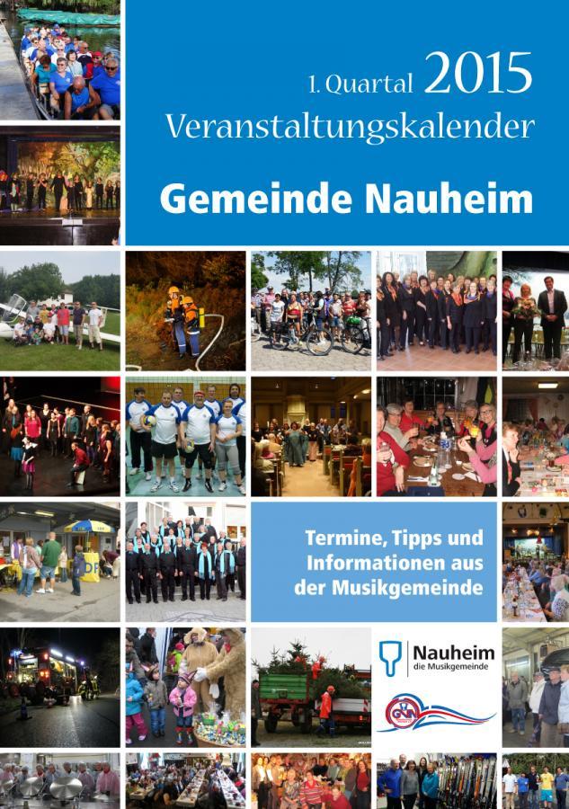Veranstaltungskalender I. Quartal 2015