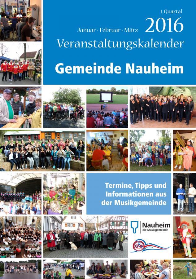 Veranstaltungskalender I. Quartal 2016
