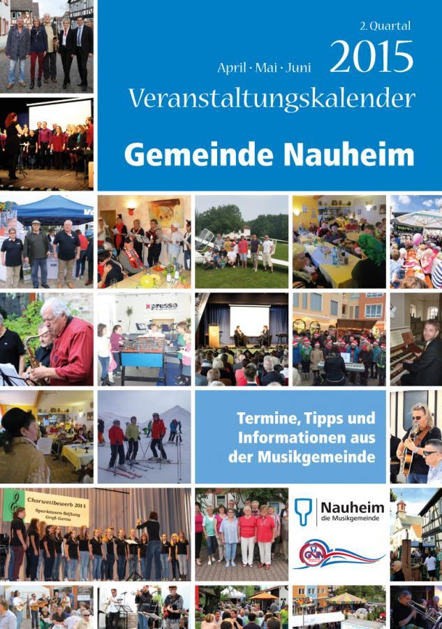 Veranstaltungskalender II. Quartal 2015
