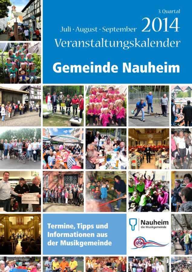 Veranstaltungskalender 3. Quartal 2014