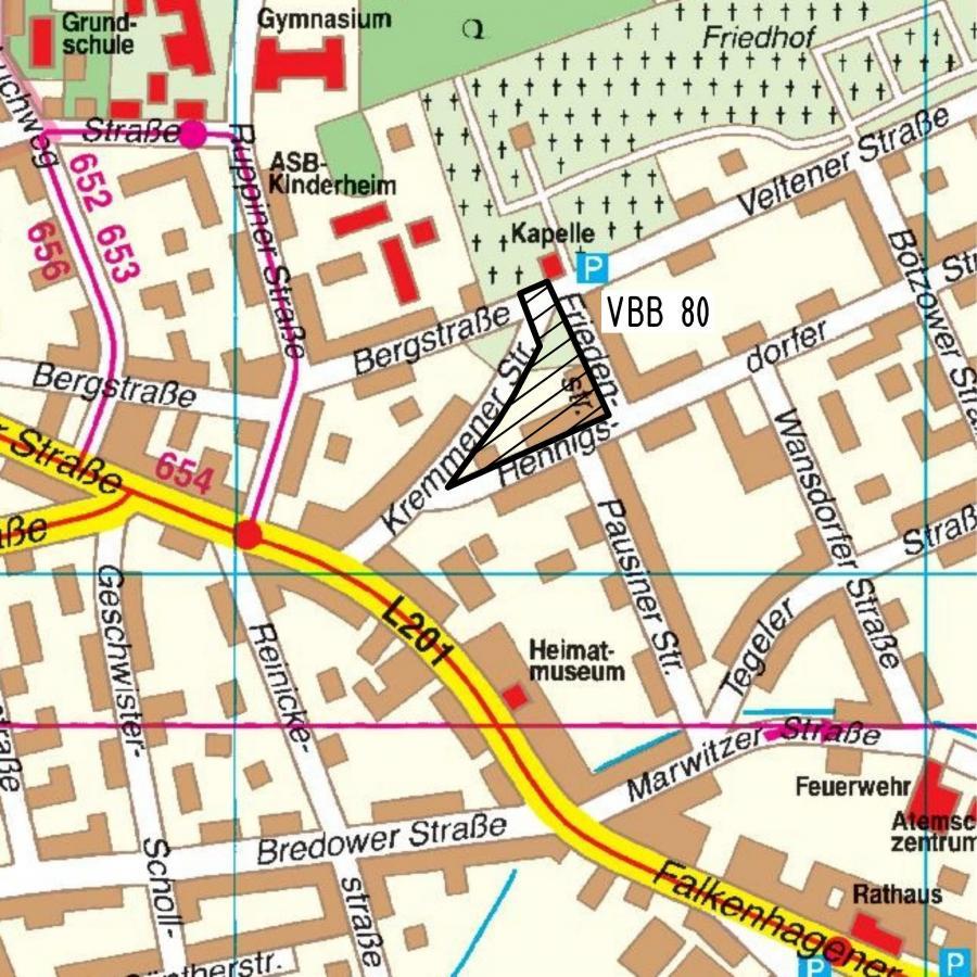 VBB 80 Friednstraße