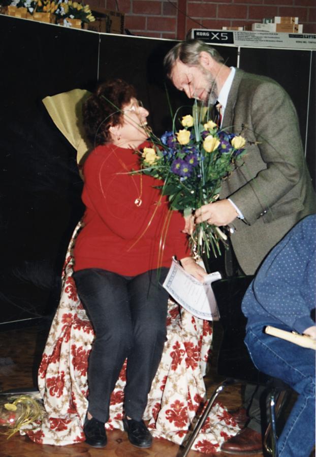 Verabschiedung von Frau Imbusch der langjährigen Schulsekretärin der RSL