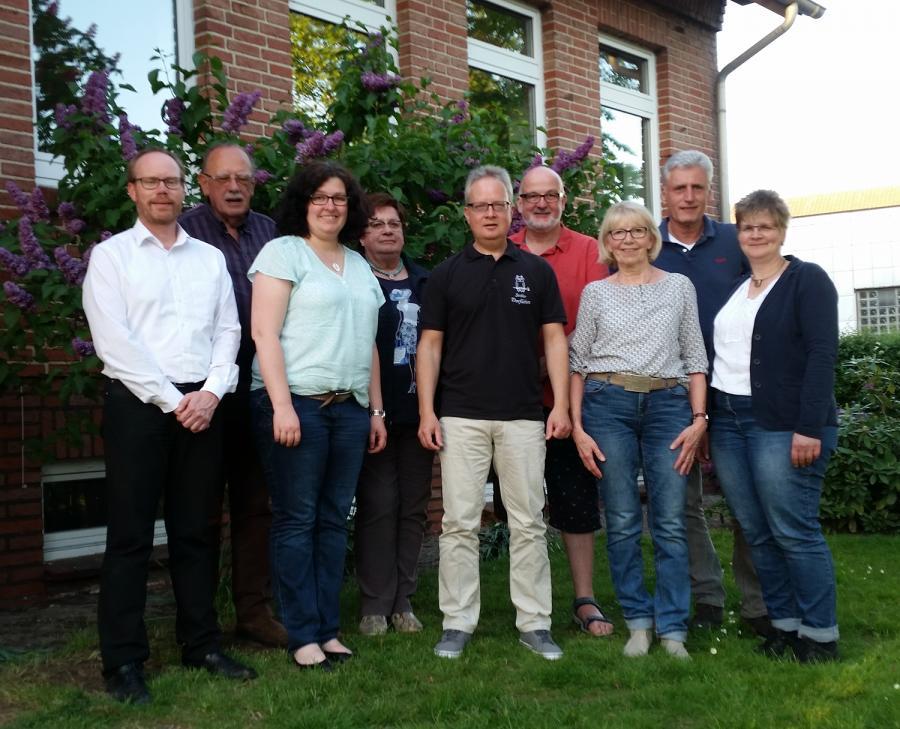 Vorstand des Vereins Ströher - Dorfleben