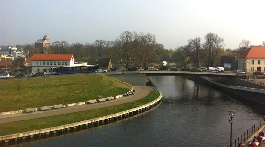 Verkehr auf der Schlossbrücke