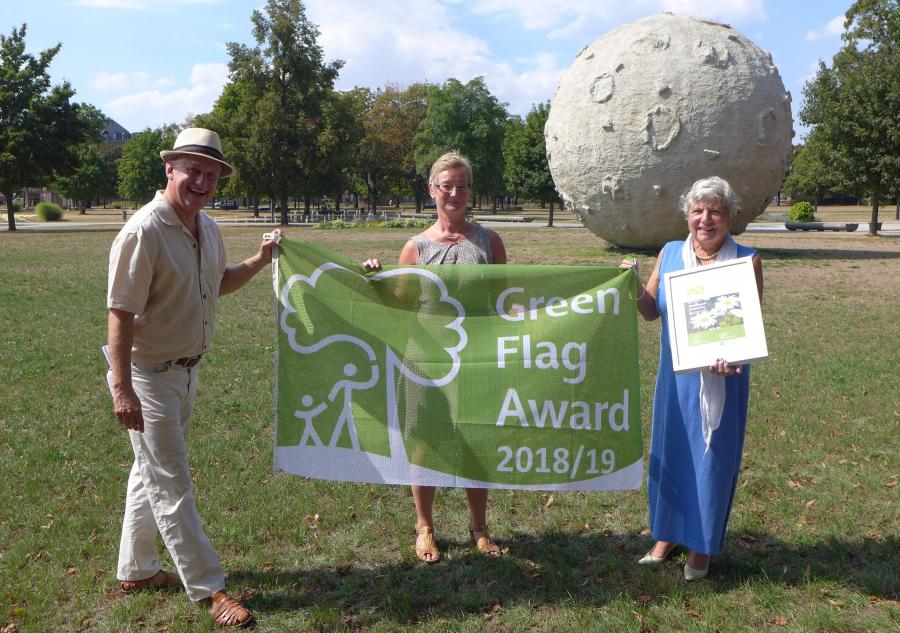 Verleihung GFA an Elbauenpark Magdeburg