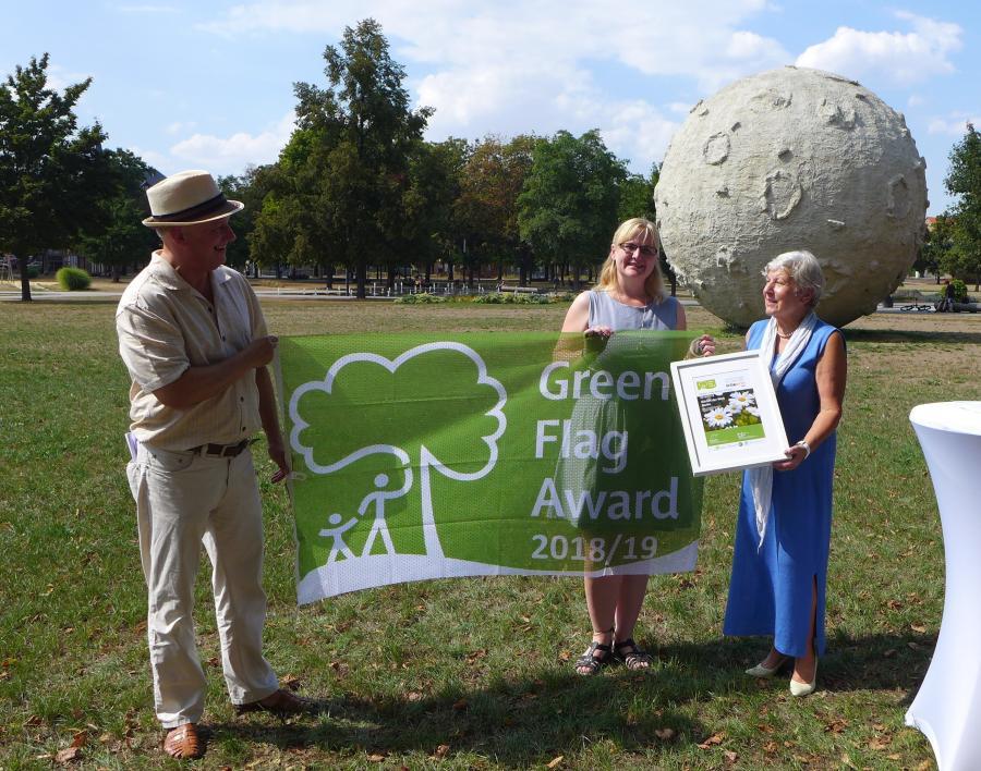 Verleihung GFA an Gärten der Welt Berlin