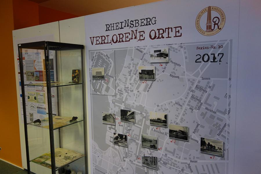 "Sonderausstellung ""Rheinsberg-Verlorene Orte"" Stadtgeschichte Rheinsberg"