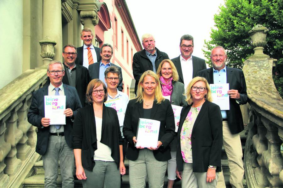 Vorstellung des Tourismuskonzepts in Lamspringe (Bildquelle ©Leine Deister Zeitung)