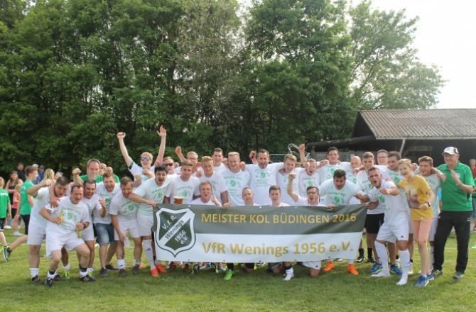 Meister KOL Büdingen Saison 2015/2016