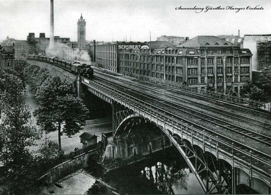 Viadukt Beckerbrücke Chemnitz