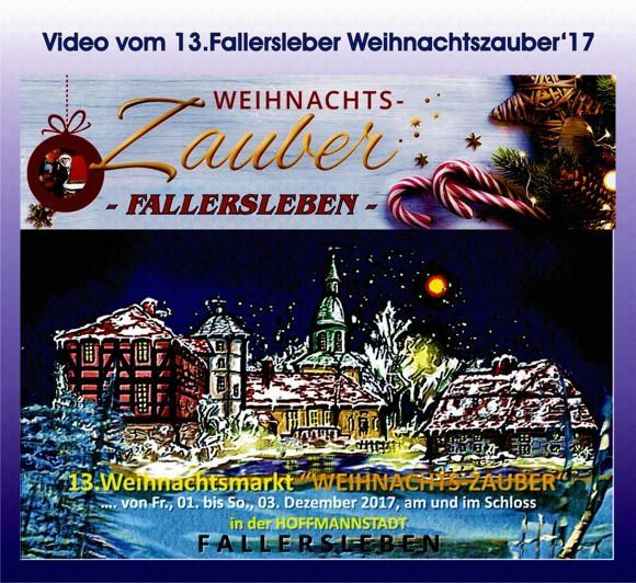Video vom Fallersleber Weihnachtszauber 2017