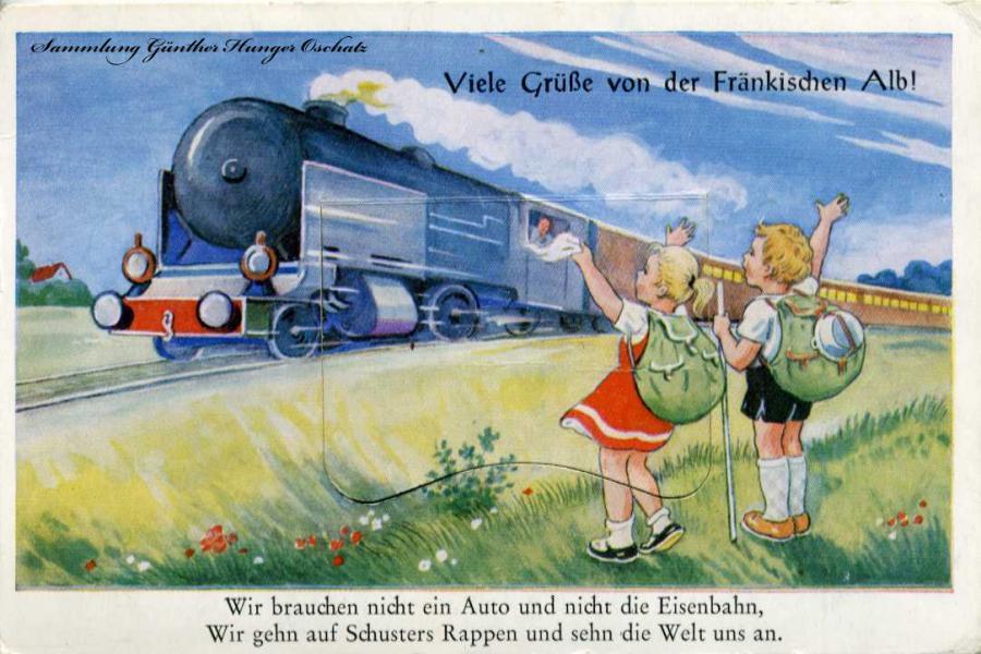 Viele Grüße von der Fränkischen Alb !