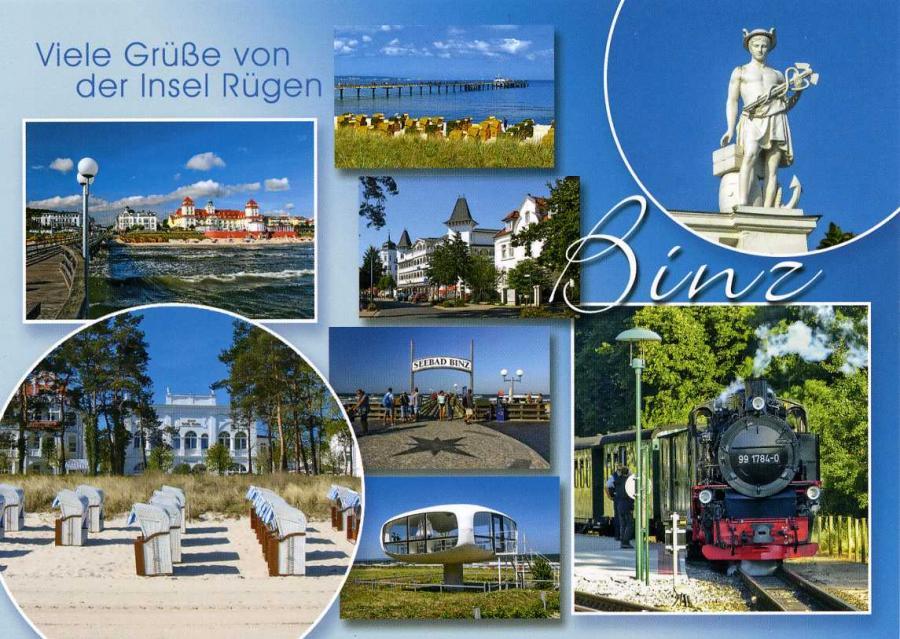 Viele Grüße von der Insel Rügen Binz