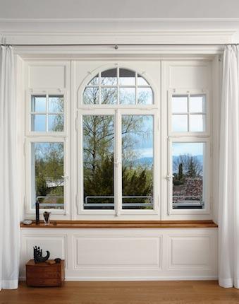 Fenster Villa Innenansicht
