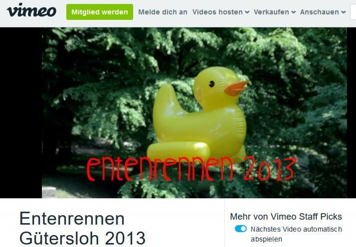 Zum Entenrennen-Film