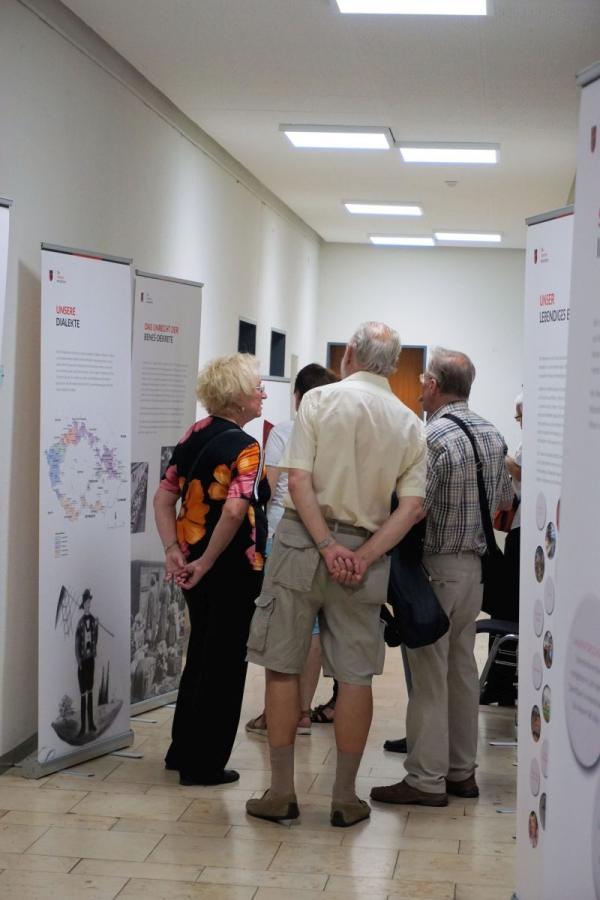 Ausstellung in den Fluren des Wendlinger Rathauses