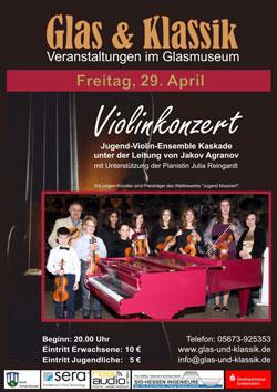 Glas & Klassik - Violinenkonzert