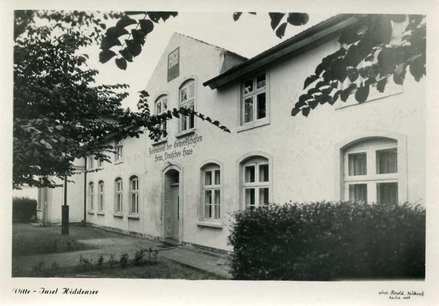Vitte-Insel Hiddensee