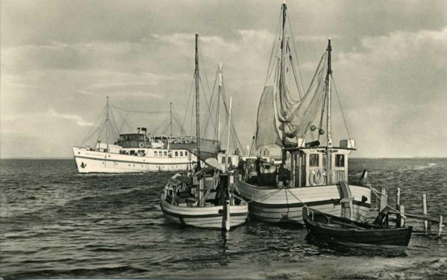 Vitte Hiddensee Hafen