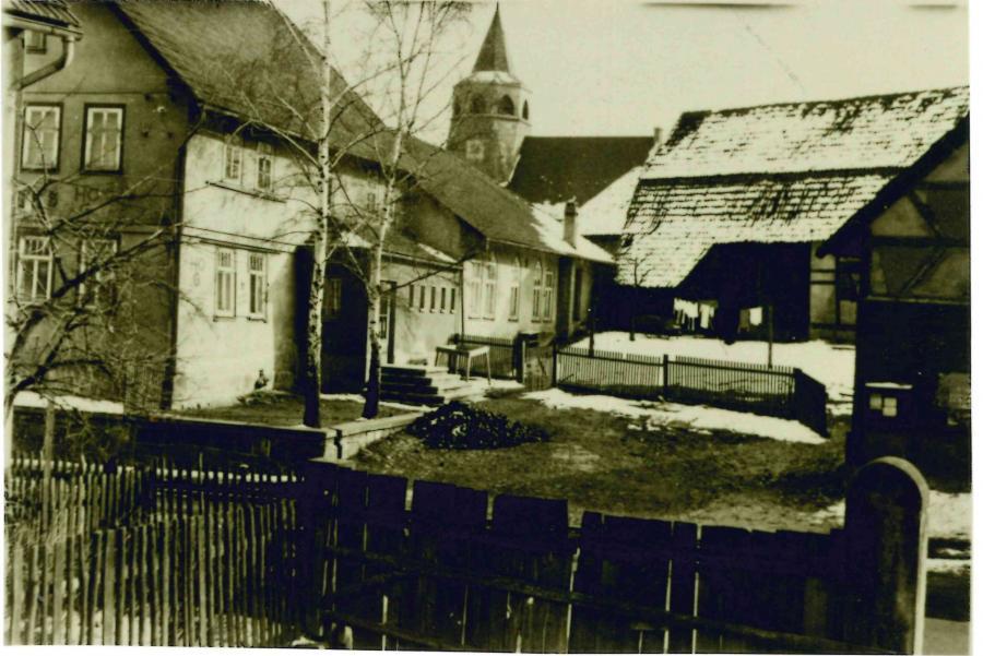 Eingangsbereich zum Gasthaus (Foto: Rudolf Gehb)