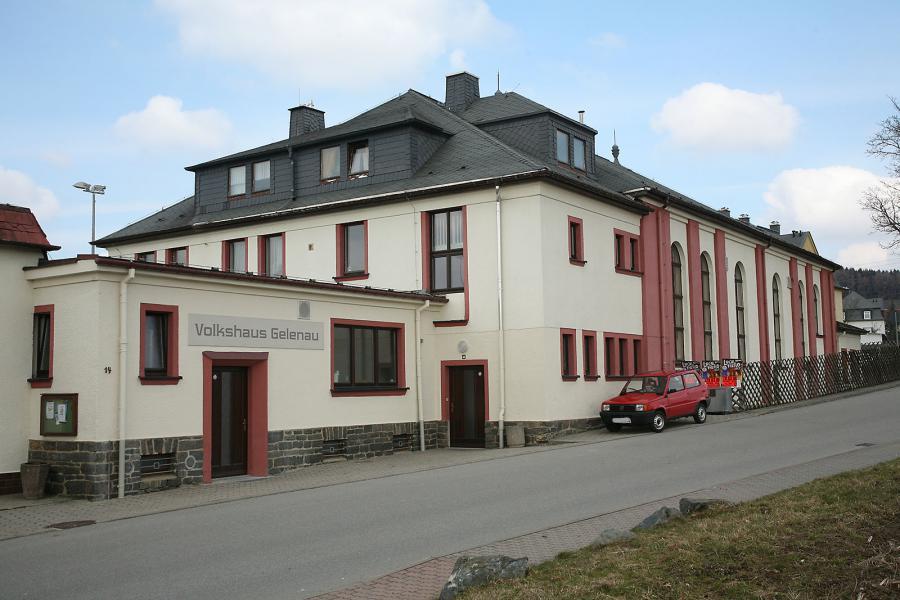 Volkshaus Gelenau, Ernst-Thälmann-Straße 19, 09423 Gelenau