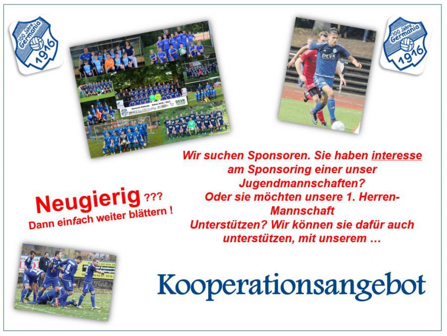 SG Germania Walsrode - Sponsoring