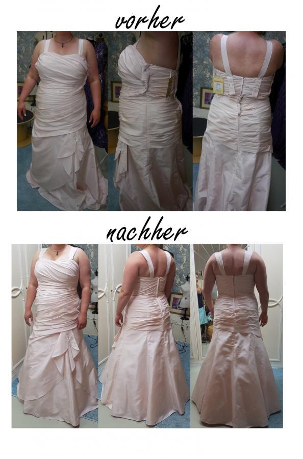 Brautkleid Änderung