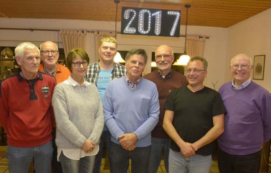 Vorstand 2017 - Foto vom Hellweger Anzeiger