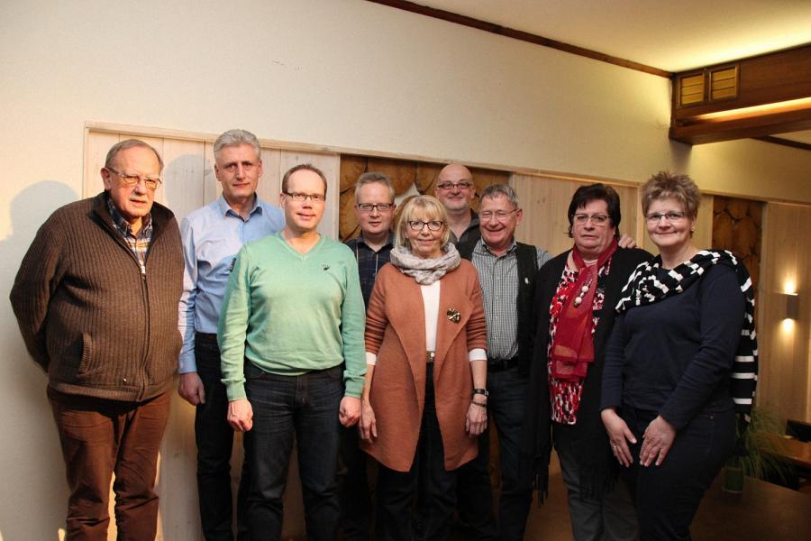 Mitglieder des Vorstandes ab 2017