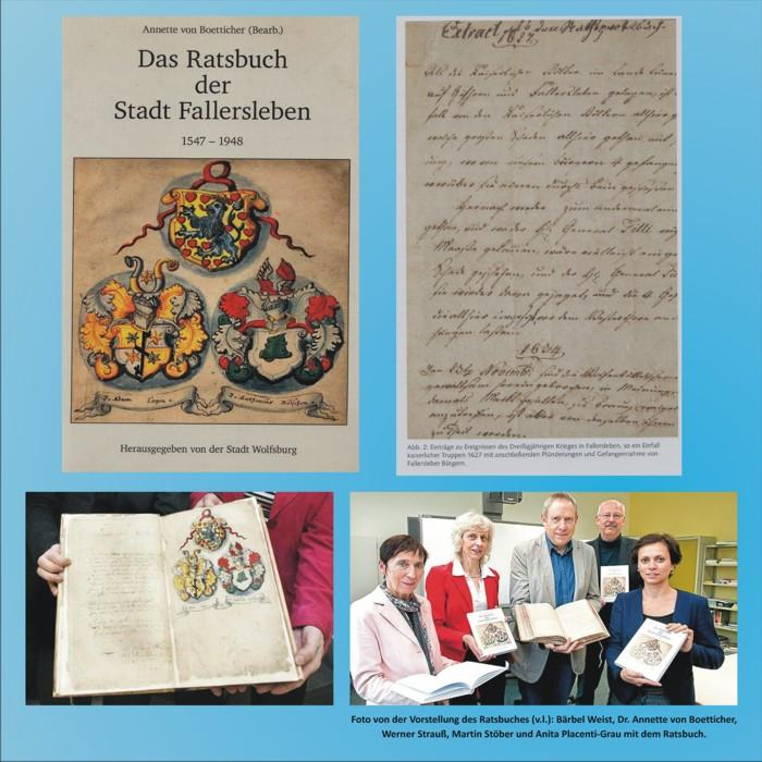Ratsbuch der Stadt Fallersleben