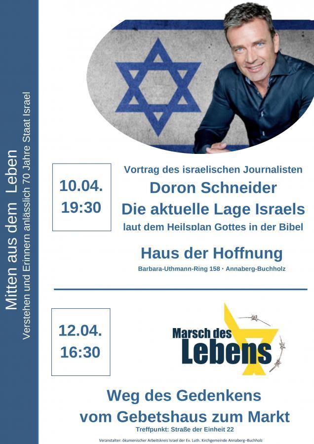 HdH - Doron Schneider + Marsch des Lebens